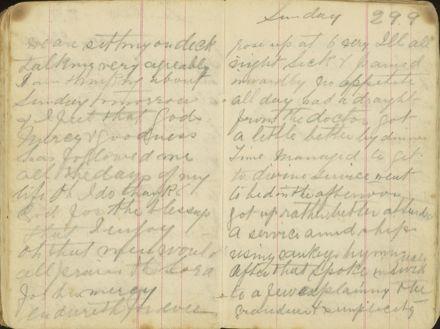Shipboard diary p30