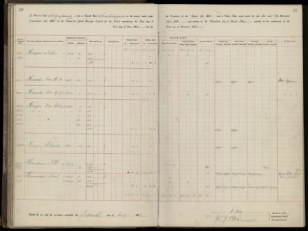 Palmerston North Rate Book, 1893 - 1896, 55