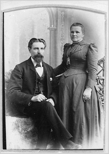 Carl August and Karen Bergersen