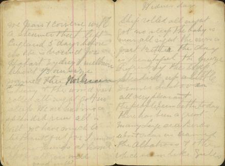 Shipboard diary p43