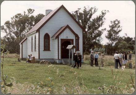 Serbian Orthodox Church Gathering 1
