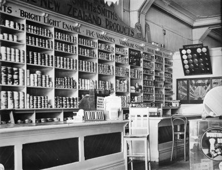 Interior of Smith & Smith Ltd, Rangitikei Street