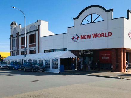 Foxton New World Supermarket - COVID-19 Pandemic