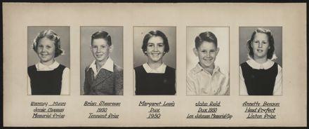 Terrace End School Student Leaders, 1950