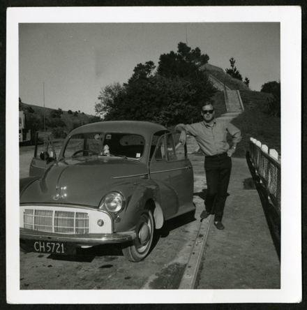 Tony Evans collection: 'Tony and the flash Morris', Gisborne