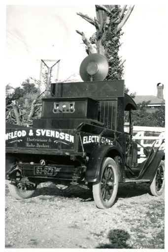 McLean and Svendsen truck