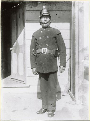 Unidentified fireman