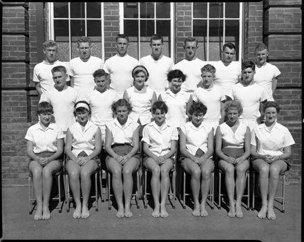 Summer Sports Team, Palmerston North Teachers' College