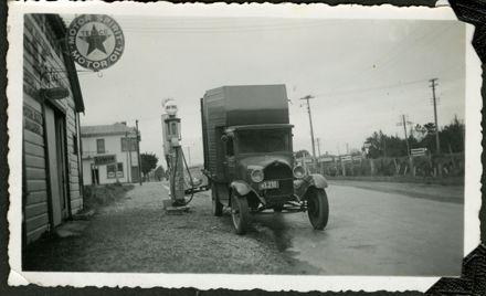 Truck at Bunnythorpe Garage