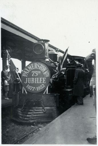 75th Jubilee Locomotive - 1952 Jubilee Celebrations