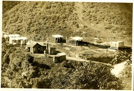 Mangahao Hydro Electric Power Scheme huts