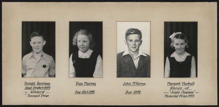 Terrace End School Student Leaders, 1949