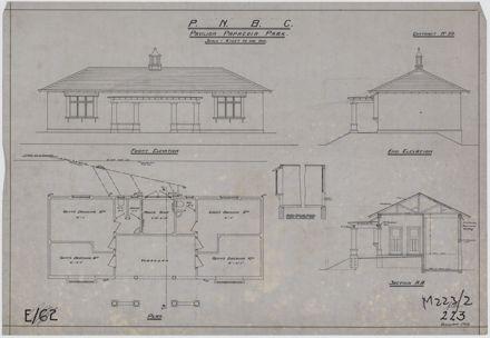 Plan of pavilion at Papaeoia Park