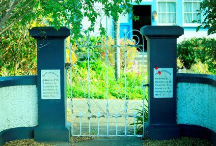 Sanson School Memorial Gate
