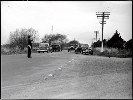 Traffic Officer at Maxwells Line