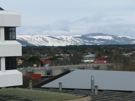 Snow over Palmerston North