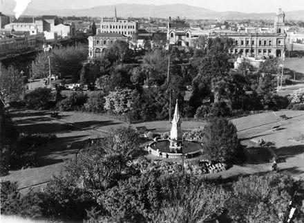 Coronation Fountain in The Square