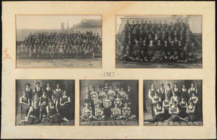 Palmerston North Technical School Photographs, 1927