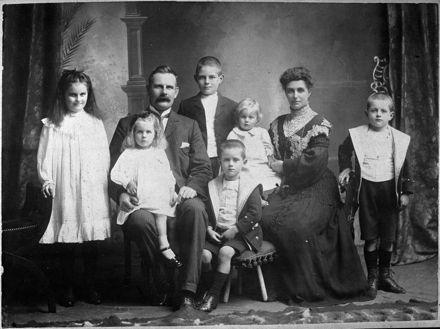 Guy Family Portrait