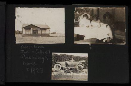 Macauley Family photograph album