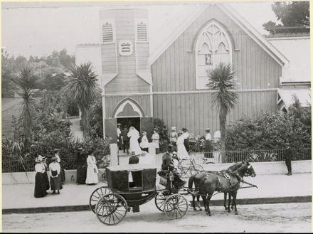 Wedding at All Saints Church, Church Street