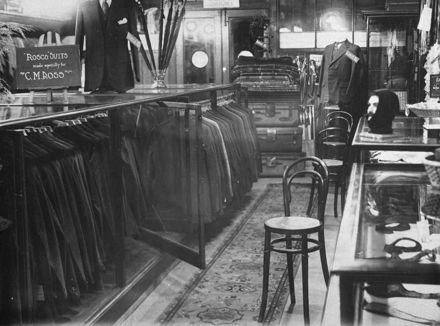 Menswear department of C M Ross Co Ltd