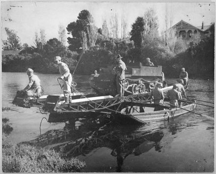 Army exercise, Hokowhitu Lagoon