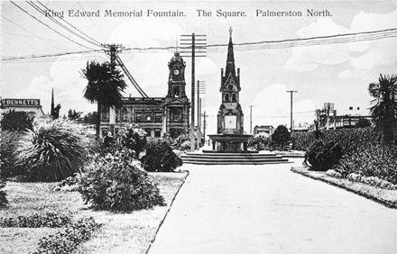 King Edward VII Memorial Fountain, The Square
