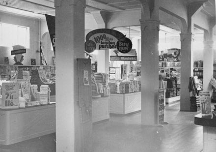 Interior of Garners department store, Broadway