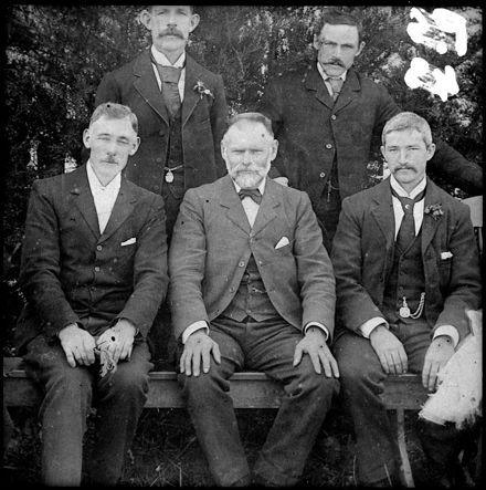 Mr Chales Dahl, Tent Maker of Palmerston North