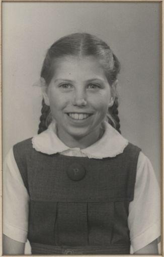 Margaret Peek - Head Prefect, 1954