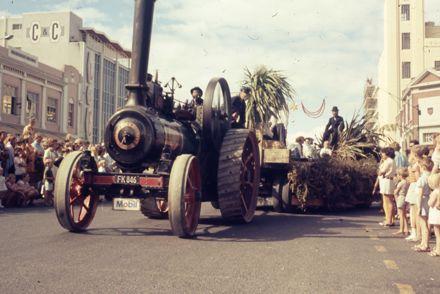 Centennial Parade - traction engine
