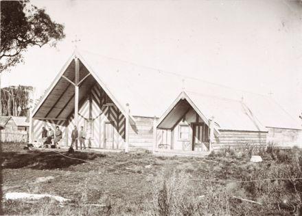 Meeting house at Awahuri