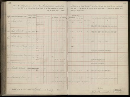 Palmerston North Rate Book, 1893 - 1896, 120