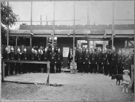 Members of the Fire Brigade