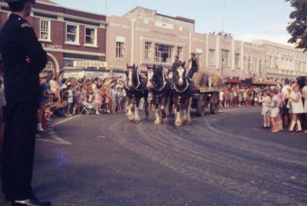 Centennial Parade - brewery float