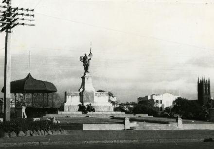 War Memorial and Band Rotunda