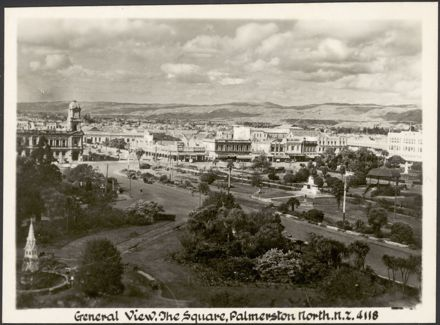 """""""Real Photographs For Your Snapshot Album - Souvenir of Palmerston North, New Zealand"""" 5"""