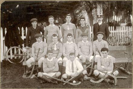 Technical School Hockey Club, 1910