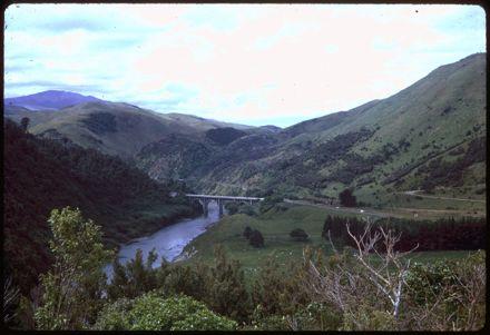Upper Gorge Bridge, Manawatū Gorge