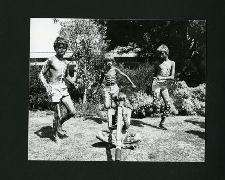 Pupils from Aokautere School dressed up for a Teaching Unit on Aboriginal Australians