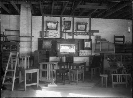 Technical School Woodwork Exhibition, 1915