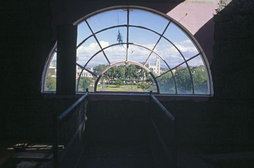 Third floor window of new Palmerston North City Library