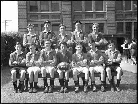 3rd XV rugby team, Palmerston North Technical High School