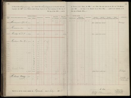 Palmerston North Rate Book, 1893 - 1896, 59