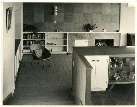 Sitting room, Pierard house, Palmerston North