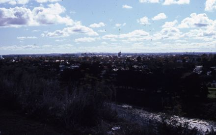Palmerston North from Aokautere Hill