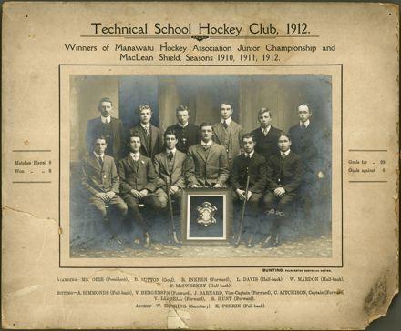 Technical School Hockey Club, 1912