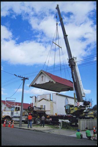 Ashhurst Methodist Church removal