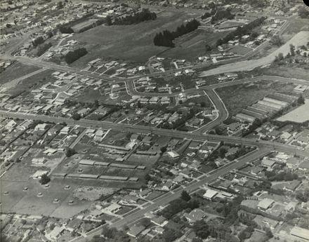 Aerial view of Hokowhitu
